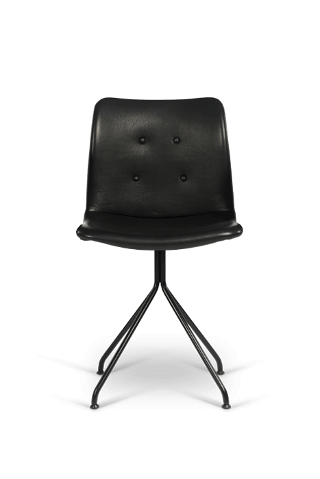 primum chair_fixed base_black