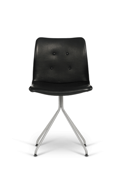 primum chair_fixed base_stainless