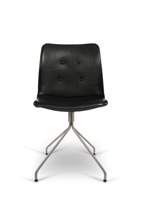 primum chair_swivel base_stainless