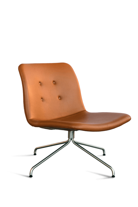 primum lounge chair_stainless base
